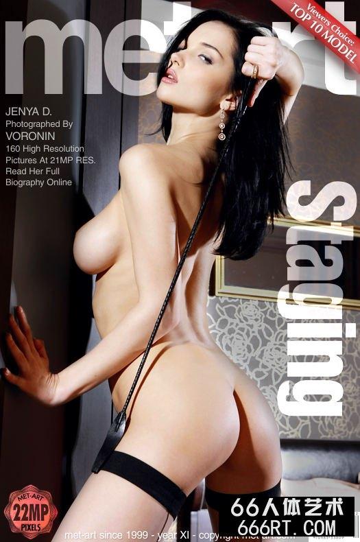 美得让人心颤的裸模Jenya肉丝人体-1