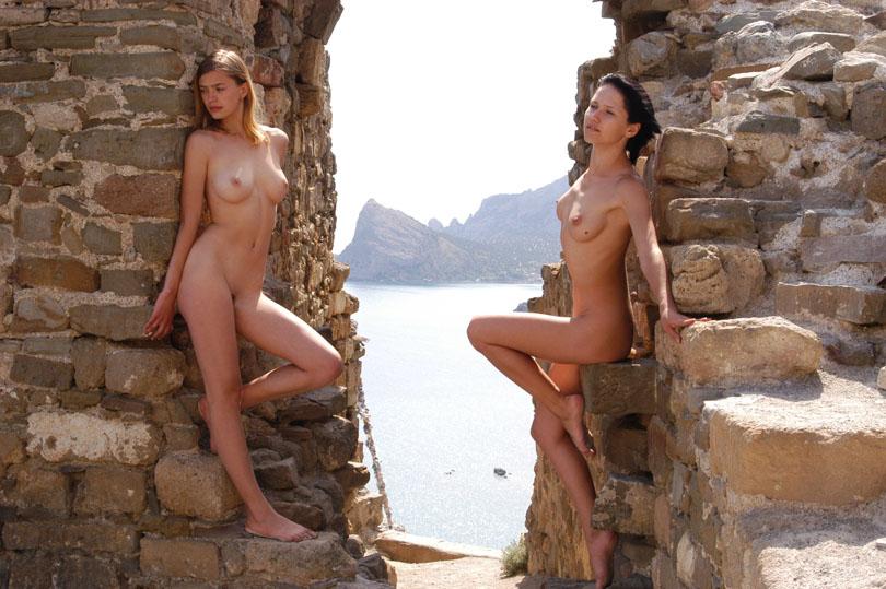 身材非常好的嫩模Jasmine海岸古城外拍